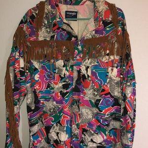 Vintage wrangler shirt